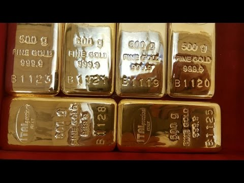 Tera T-Finishing - Customized logo stamping and numbering of precious metal bars