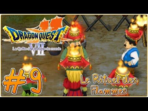 Save [Let's Play] Dragon Quest 7 : La Quête des Vestiges du Monde FR #9 - Le Rituel des Flammes ! Snapshots