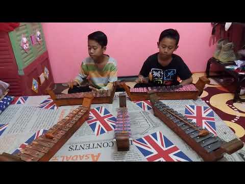 Gamelan Mini (Saron) | Belajar bermain alat musik tradisional | Gundul gundul Pacul