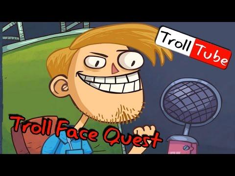 เกรียนสุดกวนป่วนยูทูป | trollface quest video memes [zbing z.]
