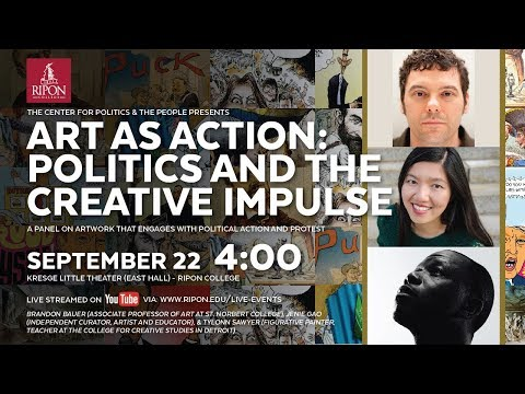 Art as Action: Politics and the Creative Impulse