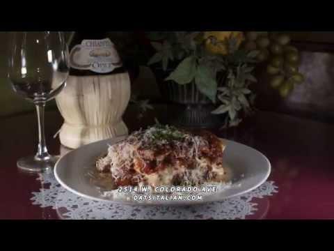 Dat's Italian | Italian Restaurants Colorado Springs CO | Best Italian Restaurant