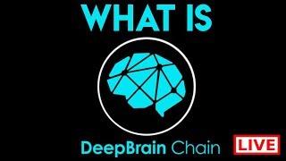 Deepbrain Chain Live AMA with Chief AI Officer Dongyan Wang