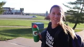 Follow Missouri Western Volleyball's libero, Kayla Ruff, through a ...