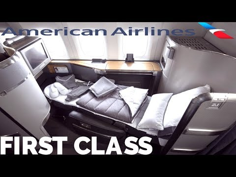 AMERICAN AIRLINES FIRST CLASS REVIEW