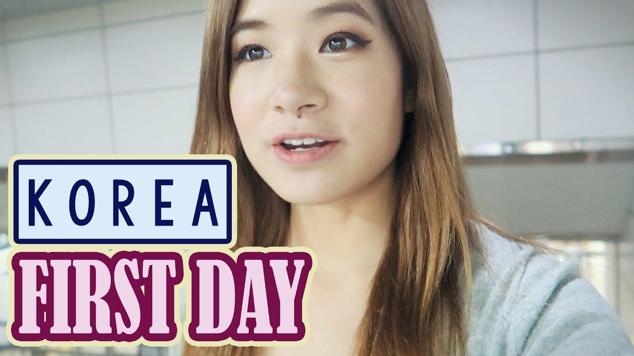 First Day in Korea, Seoul | Shopping at Express Bus Terminal & Myeongdong