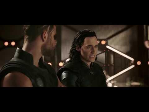 Thor Ragnarok (2017) Post credit  secen -Big  space ship