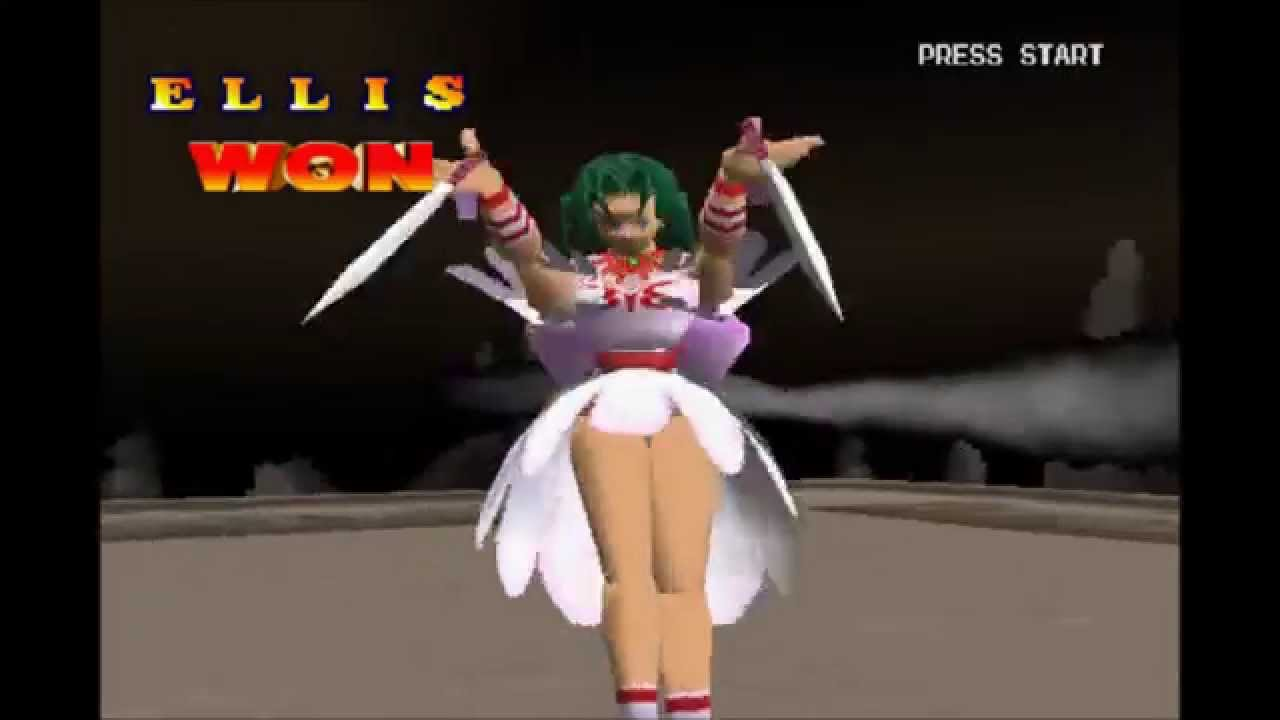Battle Arena Toshinden 2 Ellis Gameplay For The Pc Youtube