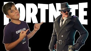 New Skins Gameplay Noir Fortnite