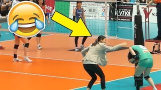 COACH VS PLAYER !? Funny Volleyball Videos (HD)