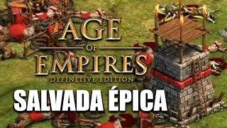 AGE of EMPIRES - SALVADA ÉPICA y PARTIDA LEGENDARIA 2 VS 2