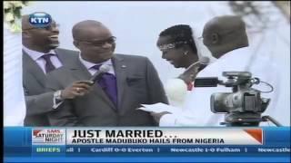 Gospel singer Emmy Kosgei ties the knot with apostle Madubuko from Nigeria