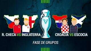 MISTER UNDERDOG 75: REPÚBLICA CHECA 0-1 INGLATERRA & CROACIA 3-1 ESCOCIA | EUROCOPA 2021