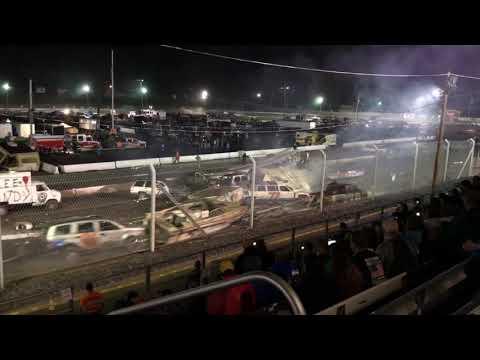 Night of Destruction 9/14/2019 Trailer Races Orange County NY