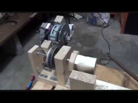 Cheap and simple DIY wood turning lathe
