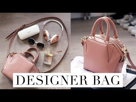 Alexander Wang Mini Emile Designer Bag Review + What's in My Bag