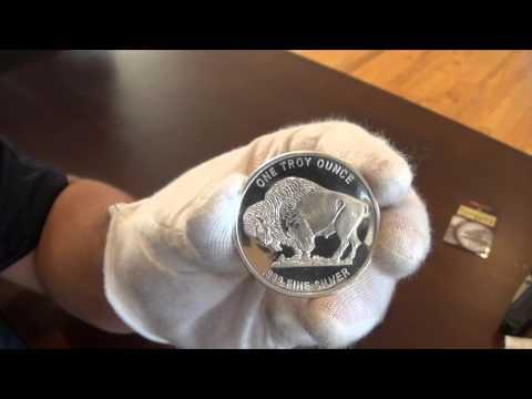 Ntr 1 Oz Silver Buffalo Round Youtube
