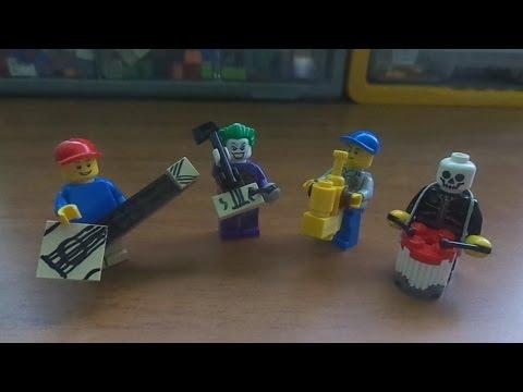 Como hacer instrumentos musicales Lego (Mr :P)