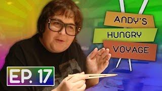 Harajuku & Real Tokyo Sushi w/ Andy Milonakis! | Andy's Hungry Voyage
