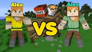 Alex VS. Alex - Minecraft