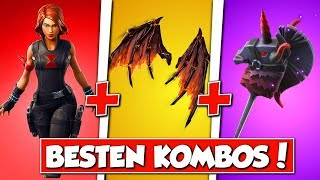 "❌The best ""BLACK-WIDOW"" skin combos in FORTNITE!! 😱"