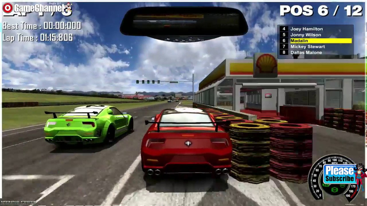 Mg Racing, Unity 3D Car Games, Driving Games, Flash Game Video - YouTube