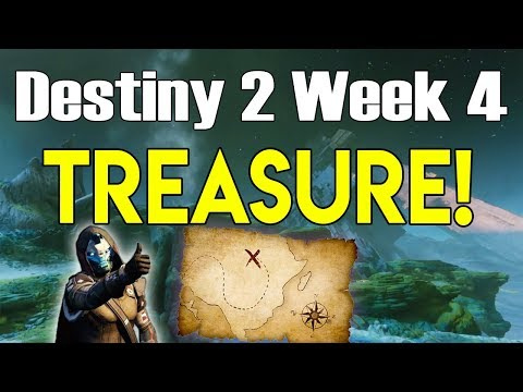 Destiny 2 ALL IO TREASURE MAP LOCATIONS | Cayde's Treasure Chests for Week 4