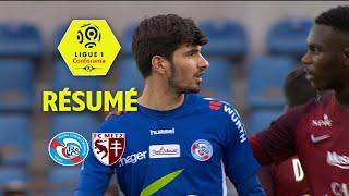 RC Strasbourg Alsace - FC Metz ( 2-2 ) - Résumé - (RCSA - FCM) / 2017-18