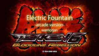 Tekken 6 - Electric Fountain (Arcade Version)