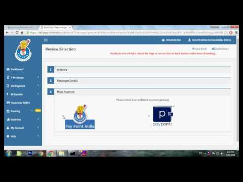 Pay Point India Pvt Ltd. - IRCTC Ticket Booking