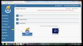 pay point india pvt ltd irctc ticket booking