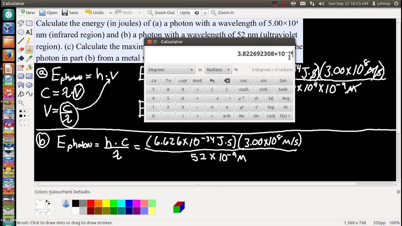 Photon Energy using Planck's Constant Calculator