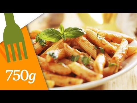 recette-de-pâtes-à-la-sauce-tomate---750g