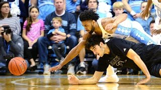 UNC Men's Basketball: Heels Roll Past UNCP in Exhibition, 124-63