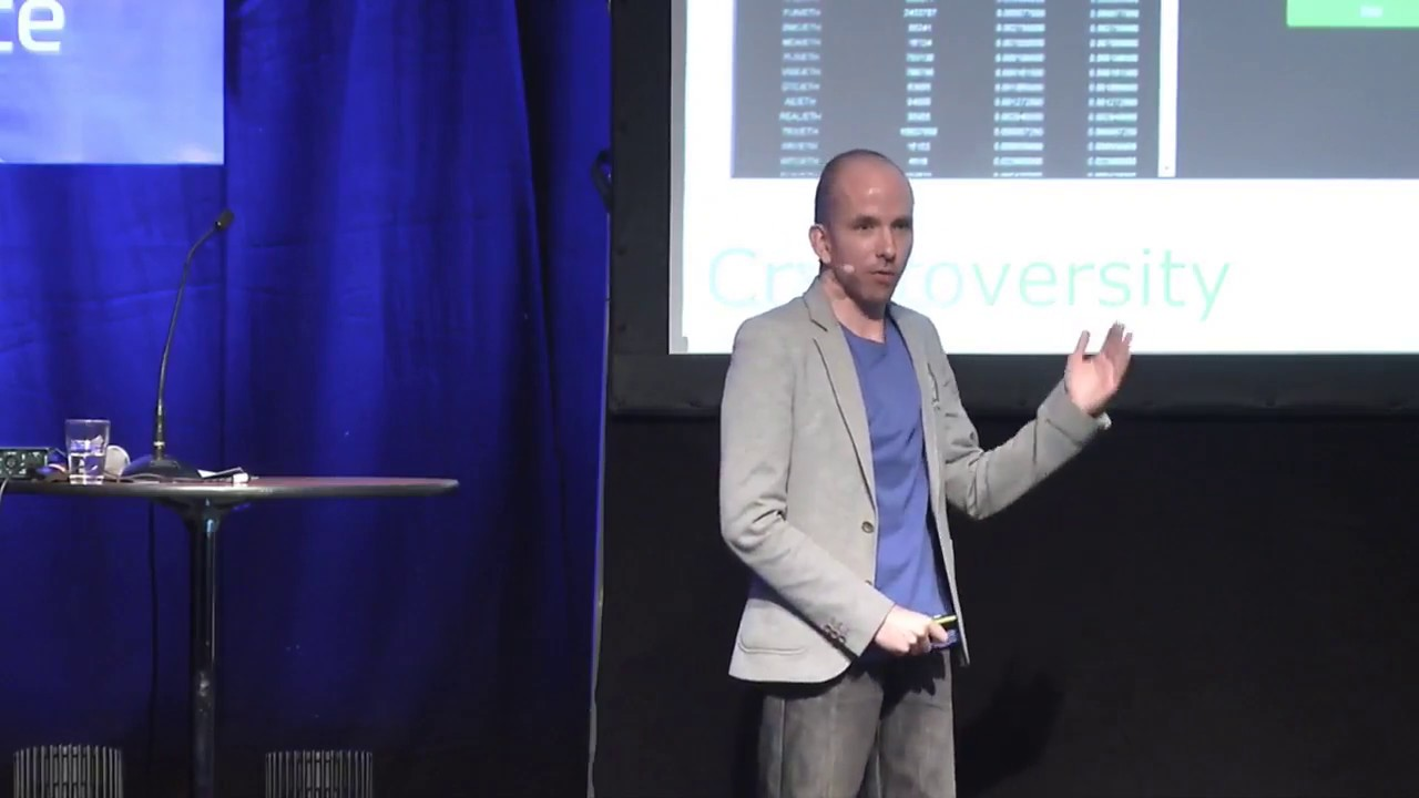 Decentralized Exchange - As Fast As Possible - Chris Coney At Cryptofinance 2017 Oslo, Norway