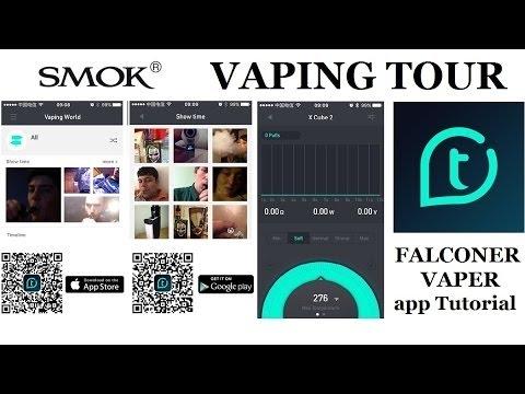 SMOK Vaping Tour (app Tutorial)