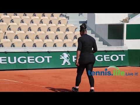 Serena Williams - French Open practice