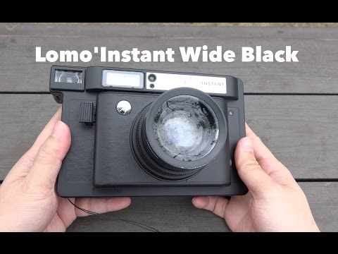 My First Instant Camera - Lomo'Instant Wide Black