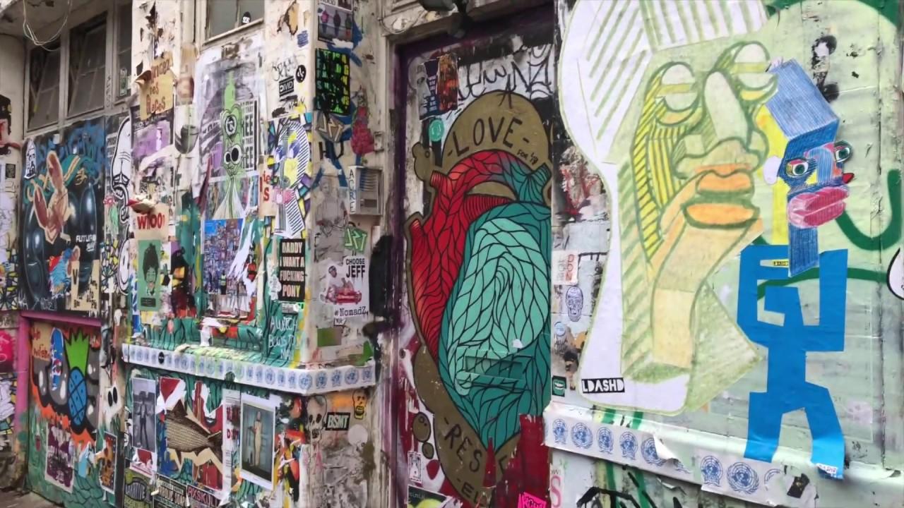Brick Lane Street Art By Banksy London Youtube
