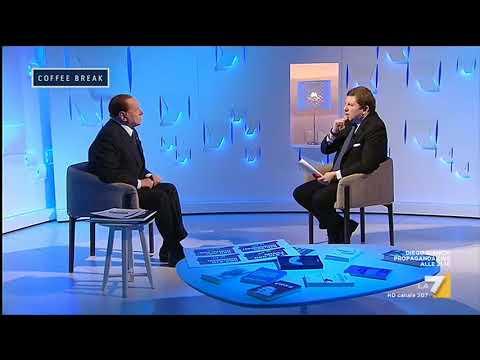 L'intervista a Silvio Berlusconi: 'Vi regalo un nuovo slogan pensato stanotte, se vuoi bene ...