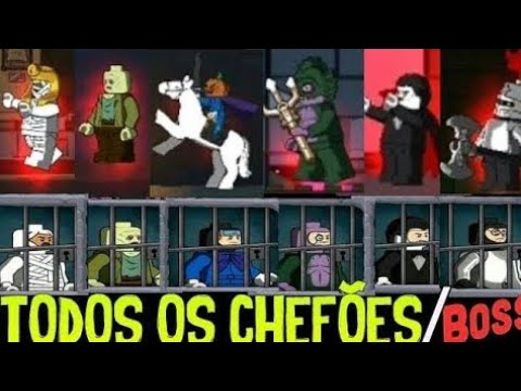 LEGO Scooby-Doo Haunted Isle (By The LEGO Group) All Boss Fights TODOS OS VILÕES