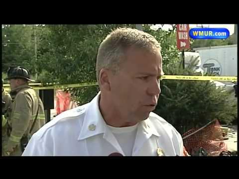Men seriously burned in diesel tank fire