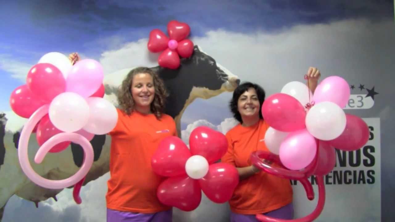 Alade3 como decorar con globos youtube - Decorar con globos ...