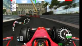 2006 Formula One PS3, try F1 Monte-Carlo Monaco 3 laps 4