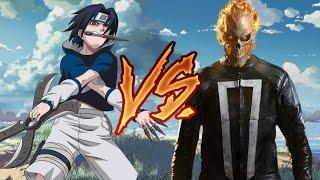 �������� ���� 【RANDOM BATTLE】Саске Учиха vs Призрачный Гонщик / Sasuke Uchiha vs Ghost Rider ������