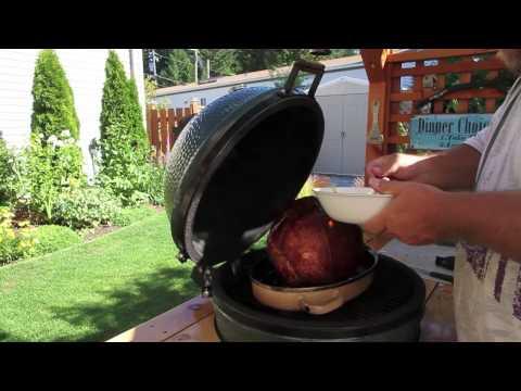 Papa's Smoked Ham On The Big Green Egg