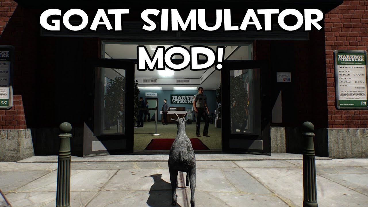 Payday 2 goat simulator