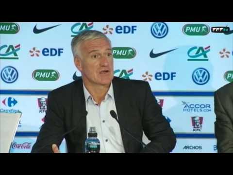 Replay : Conférence de presse de Didier Deschamps ! (19 mars 2015)