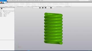 Анимация навивки пружины Компас 3D V18