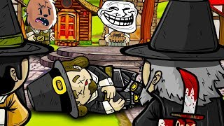 HOW CAN I TRUST ANYONE HERE!? - TOWN OF SALEM MURDER MYSTERY WITH FRIENDS! | JeromeASF